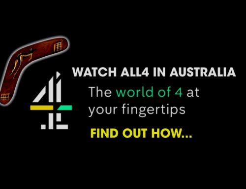 Watch all4 in Australia